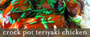 recipe for crockpot teriyaki chicken