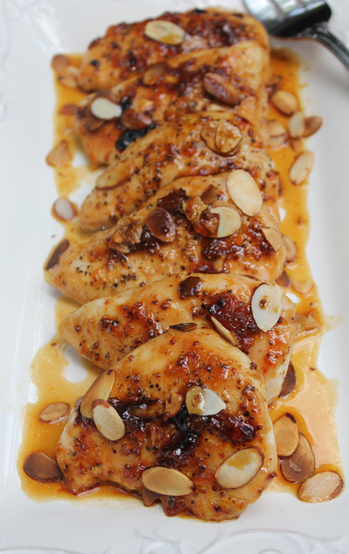 Apricot chicken 2 close V