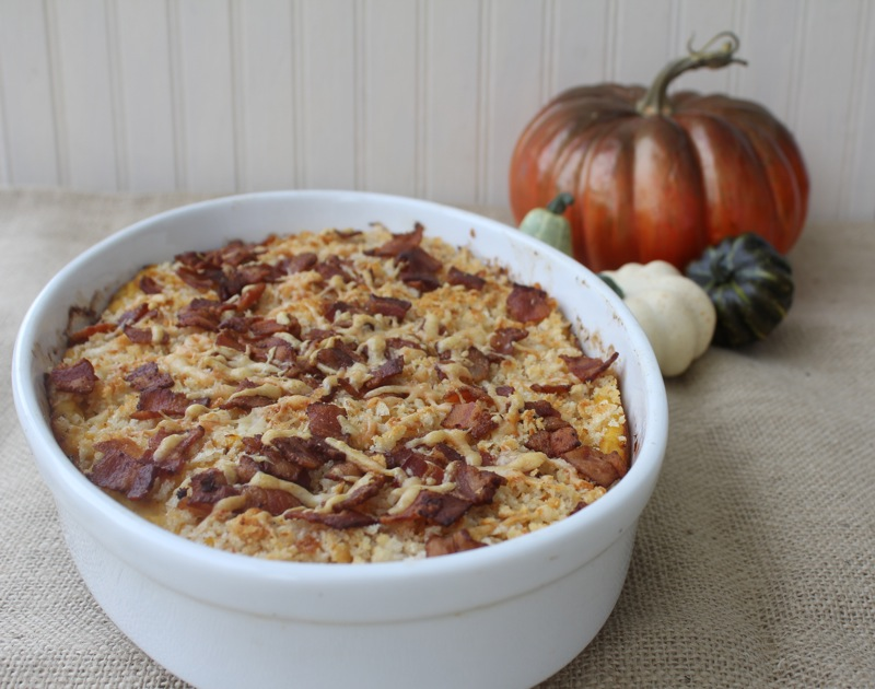 Butternut Squash And Sweet Potato Gratin Recipe — Dishmaps