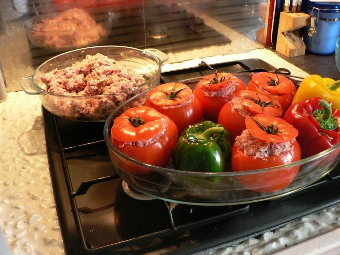 Tours stuffed peppers