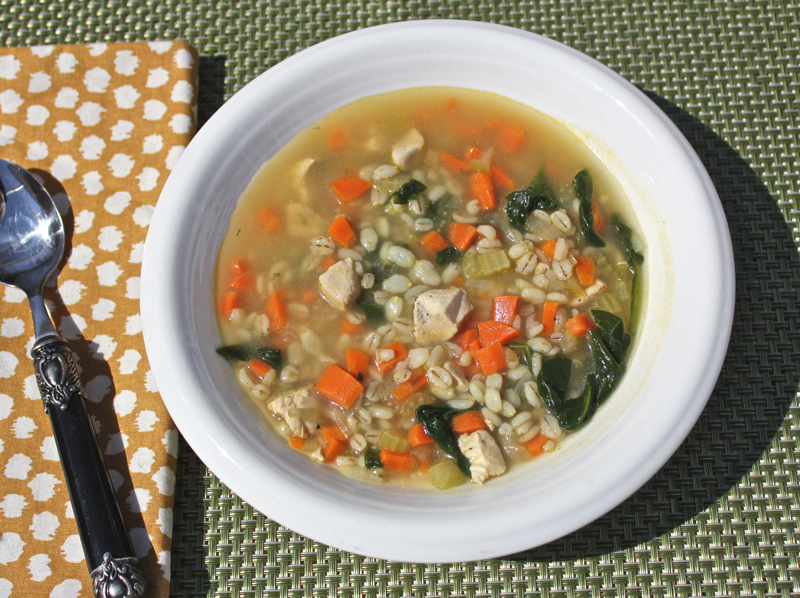 Chicken Barley Soup 1
