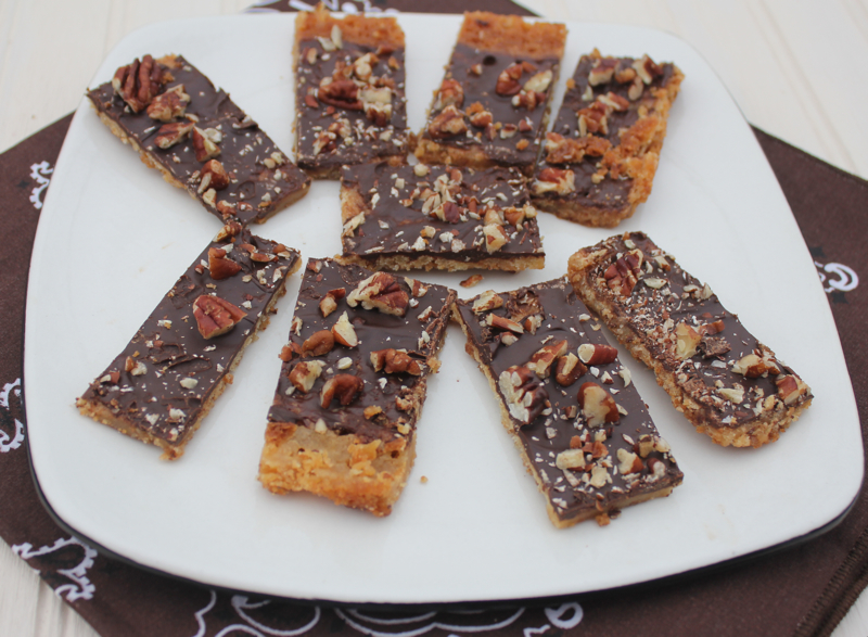 Chocolate Shortbread Bars 1