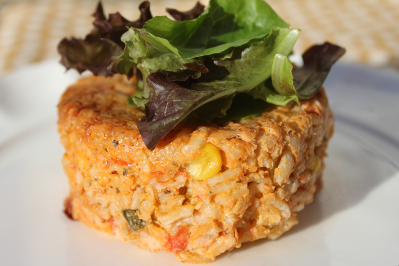 Tomato, Sweet Corn and Basil Risotto Cakes - Lake Lure Cottage ...