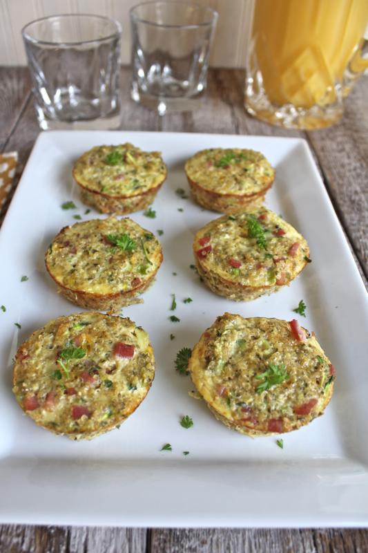 Quinoa Frittata Muffins 2V