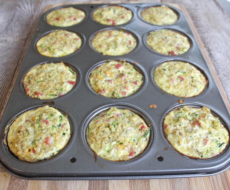 Quinoa Frittata Muffins 4