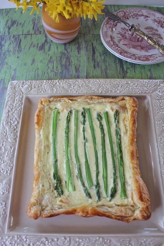 Asparagus Tart 2V