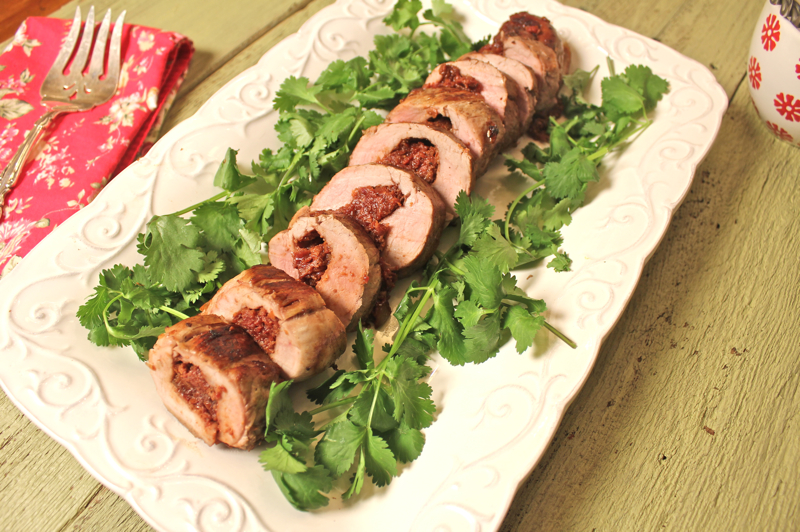 Pork Tenderloin with Cherry Stuffing 1