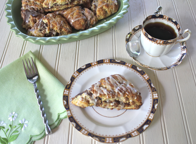 Triple Cinnamon Scones 4