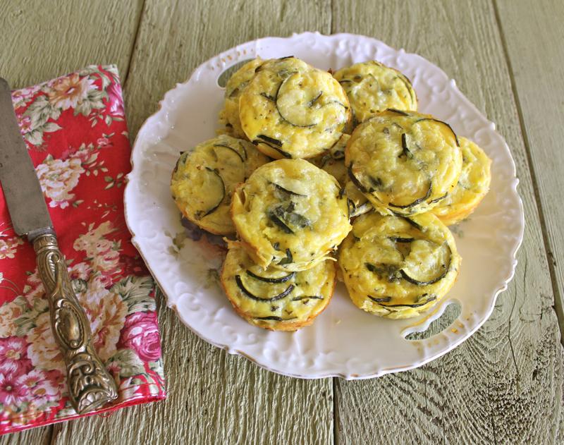 Zucchini Flans 1
