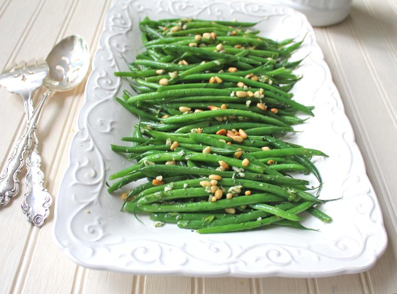 Green Beans Gremolata 1