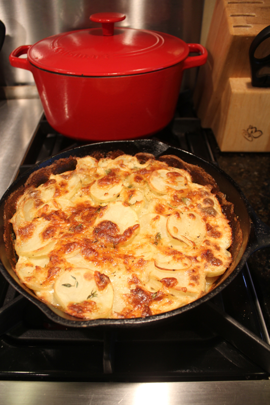 Julia Child's Scalloped Potatoes 1