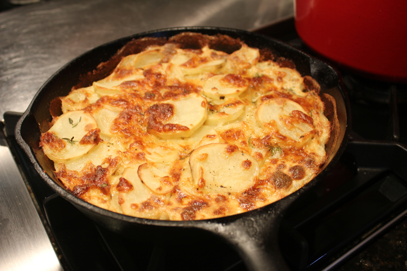 Julia Child's Scalloped Potatoes 2
