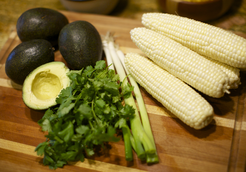 Avocado and Corn Dish 3C