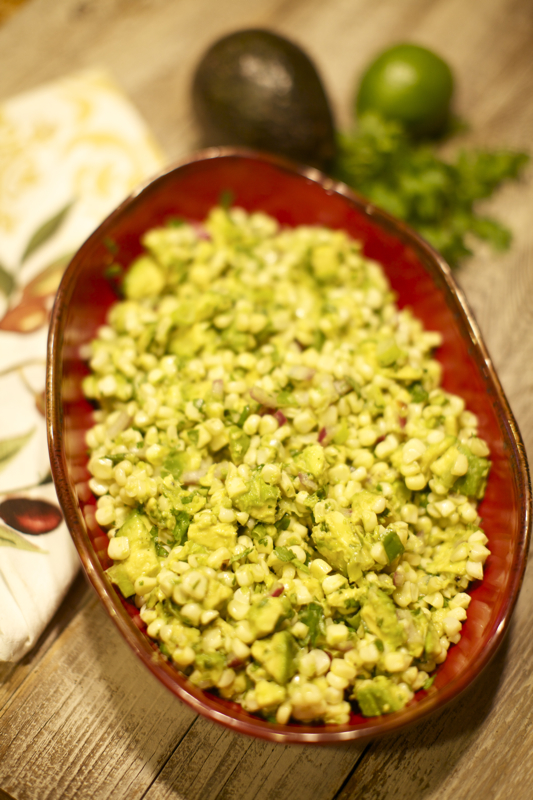 Avocado and Corn Salad 4CV