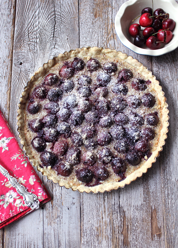 Cherry-Almond Tart 2V