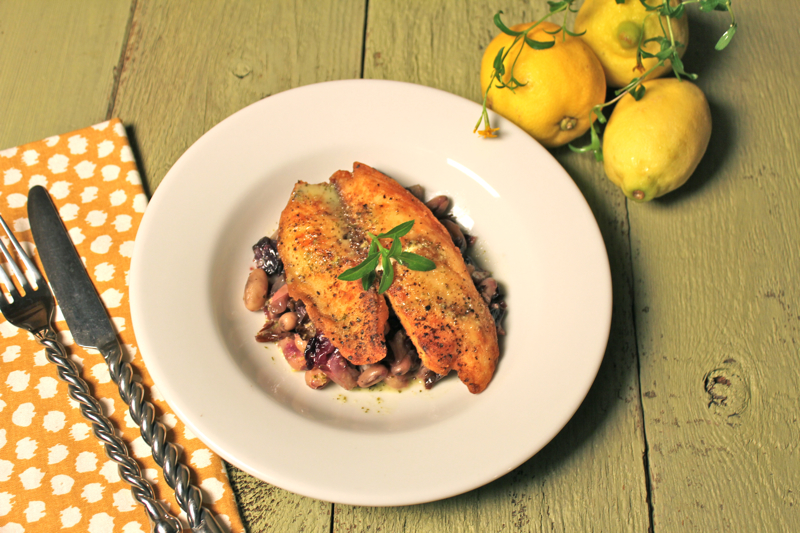 Tilapia with Lemon Vinaigrette 3