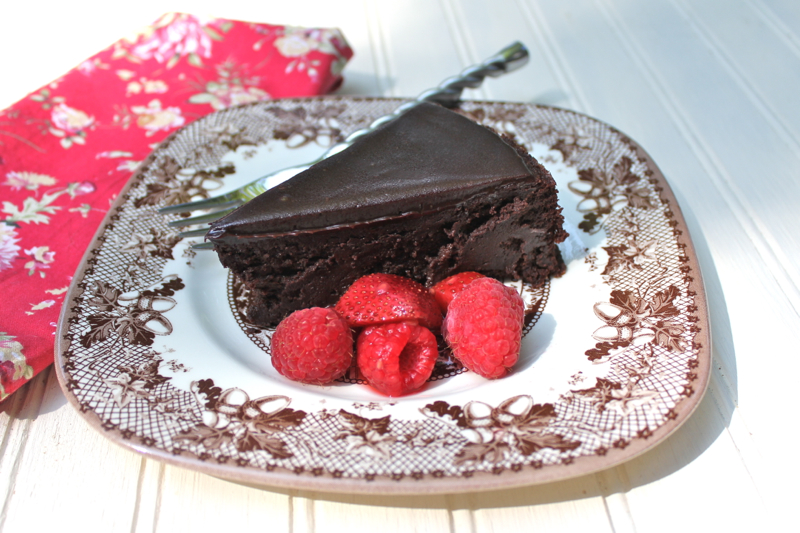 Chocolate Cassis Cake 1