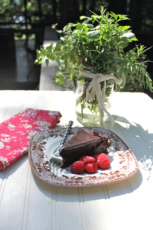 Chocolate Cassis Cake 3V