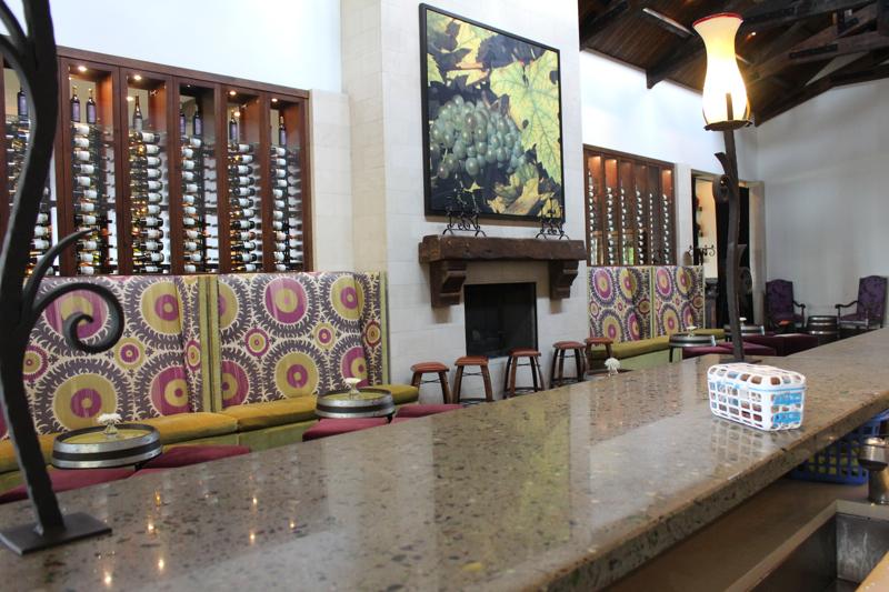Montaluce tasting area