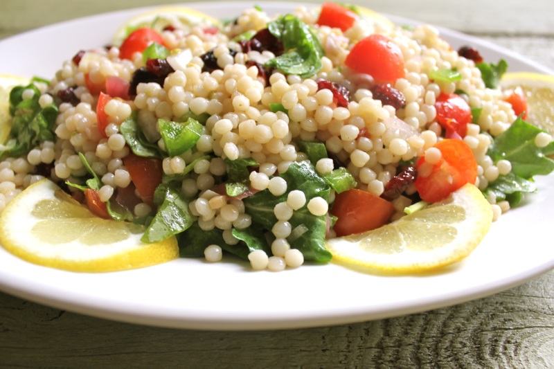 Couscous with arugla 2