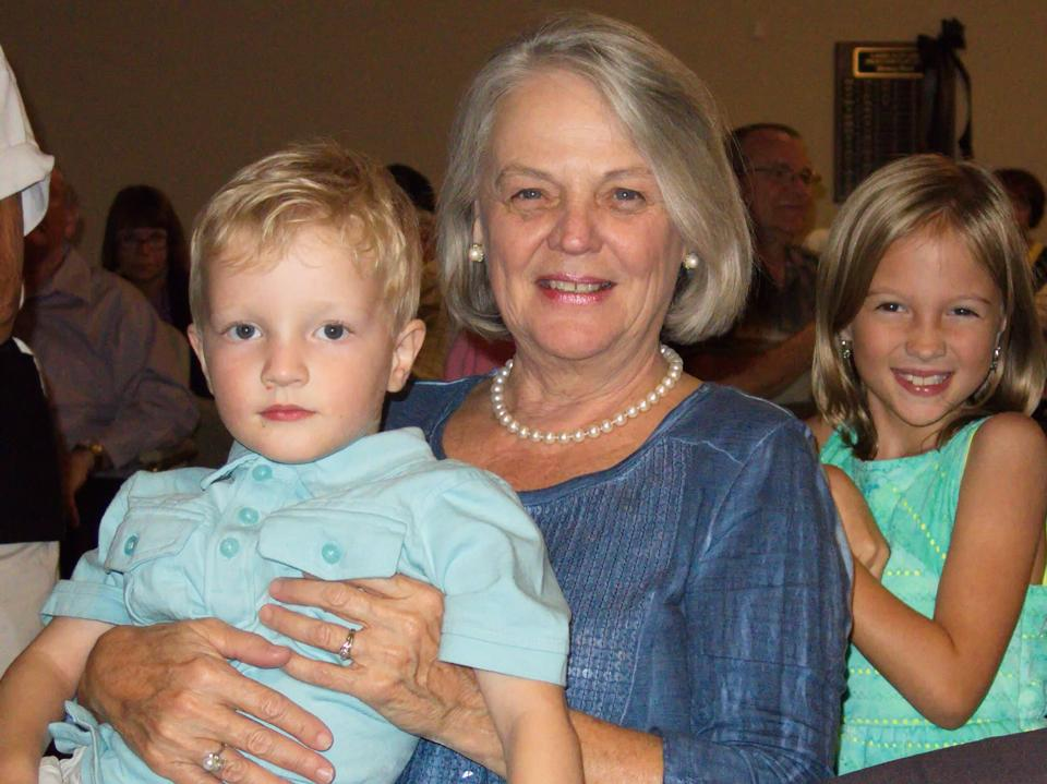 Birthday Mimi and kids