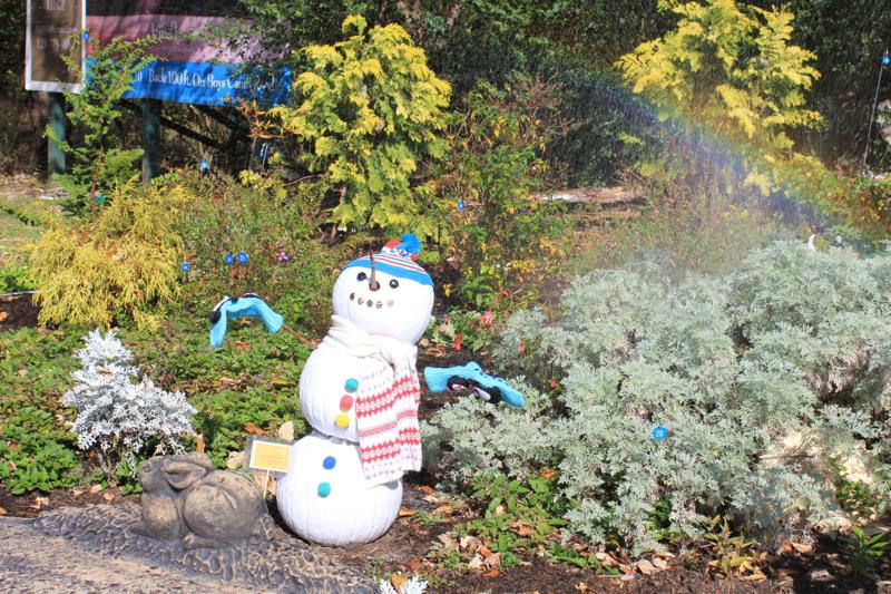 Pumpkins 2 Snowman