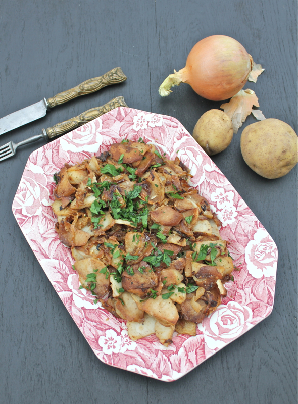 Lyonnaise Potatoes 2V