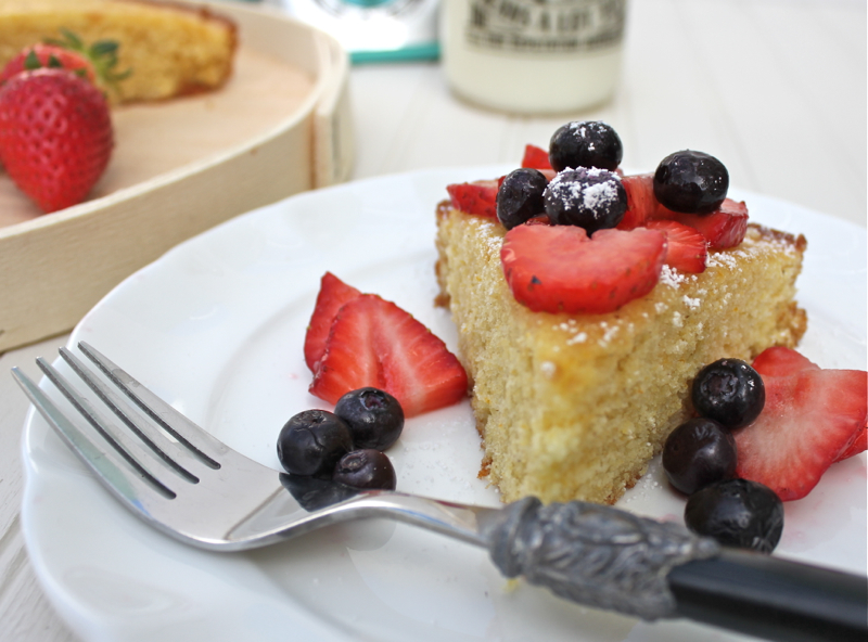 Cornmeal Cake 2 close