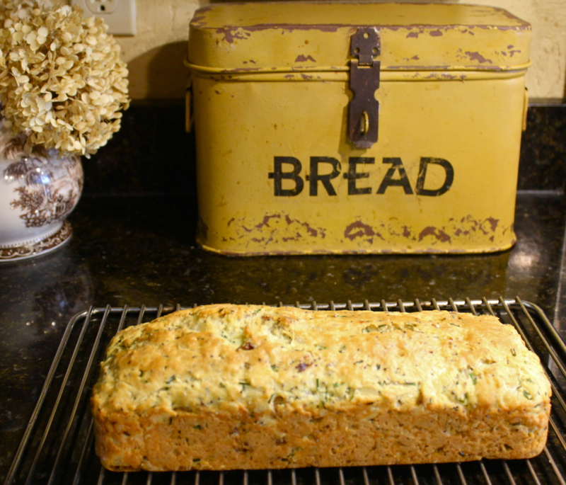 Savory Cheese and Chive Bread 2