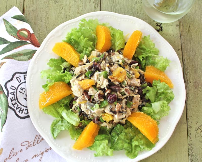 Chicken Salad with Wild Rice 1