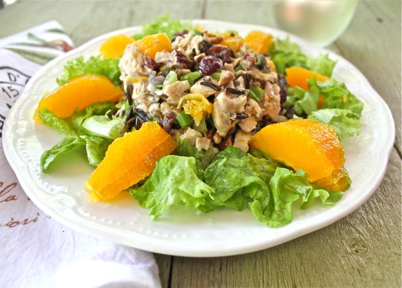 Chicken Salad with Wild Rice 2