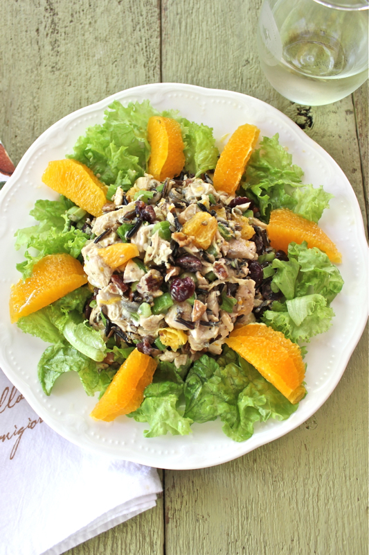 Chicken Salad with Wild Rice 3V