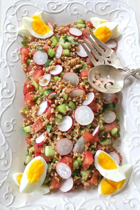 Farro Salad 4V