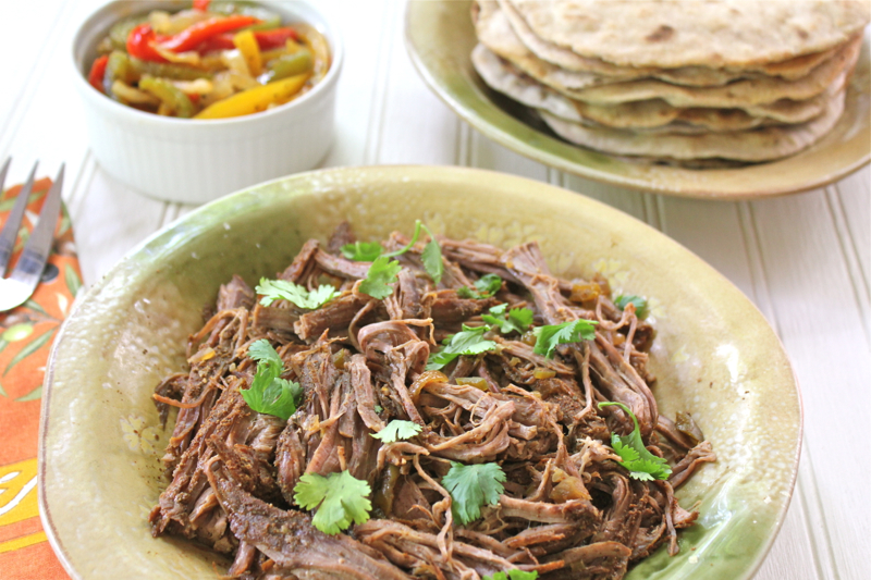 Crock Pot Flank Steak Fajitas 3