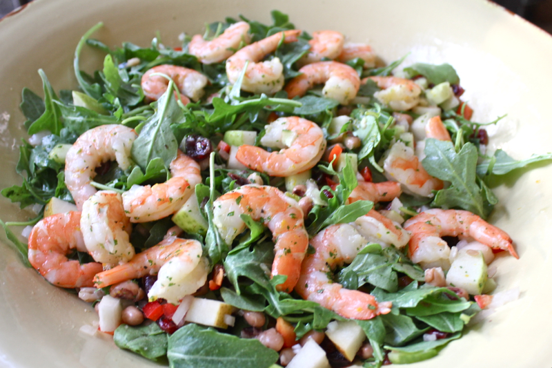 Black-Eyed Pea and Arugula Salad 1