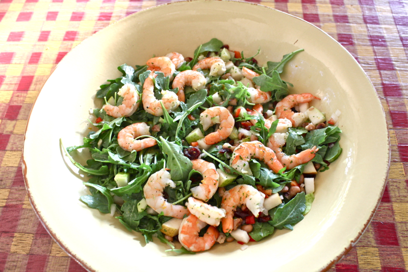 Black-Eyed Pea and Arugula Salad 2