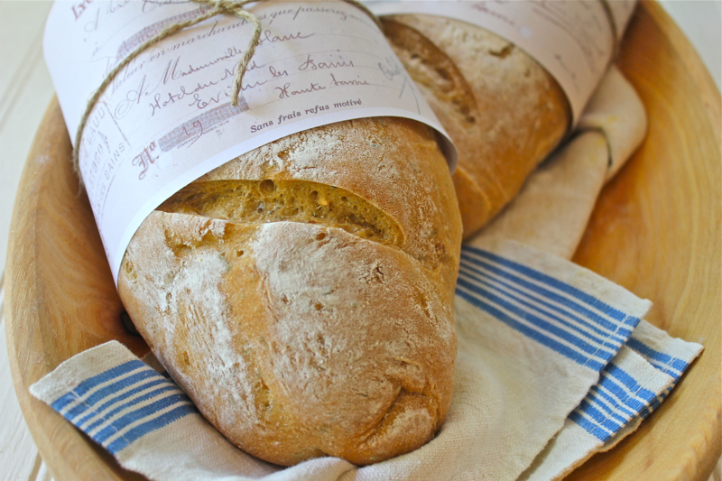 Garlic Rosemary Baguette 4