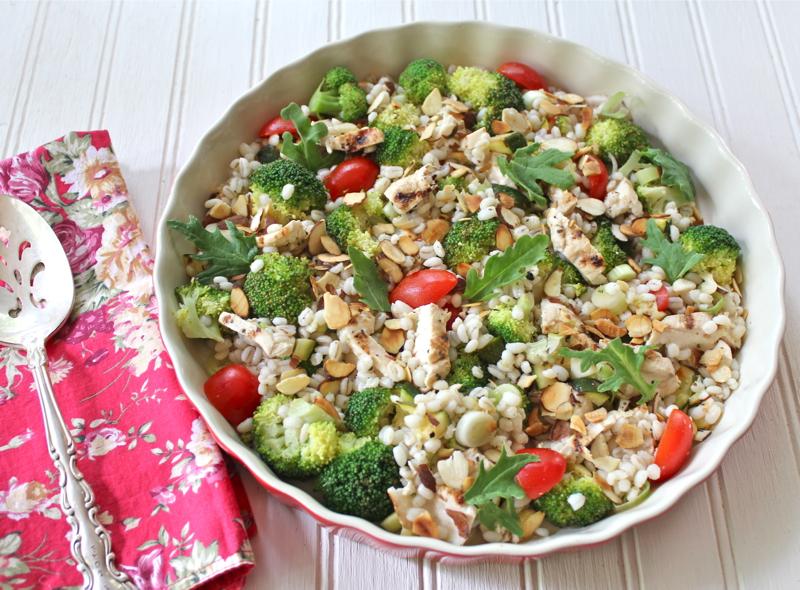 Pearl Barley Salad 1