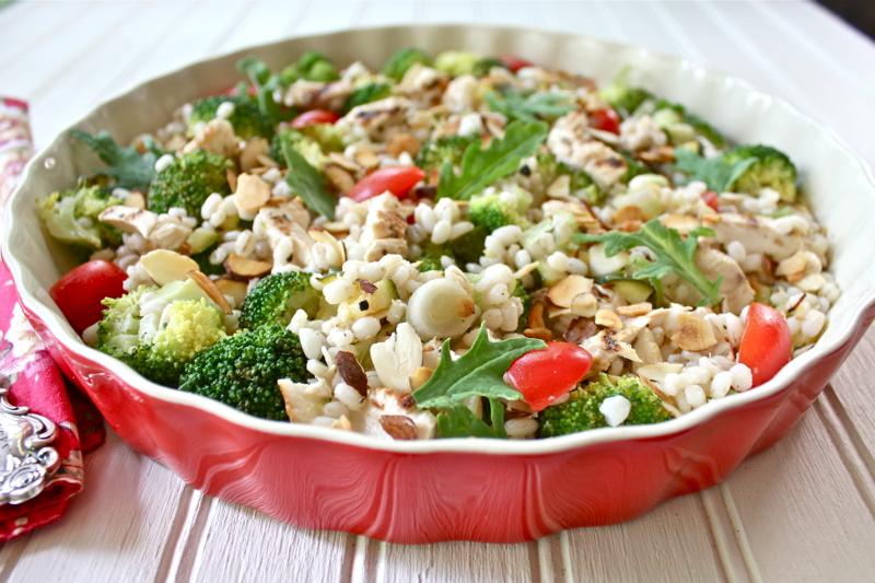 Pearl Barley Salad 2