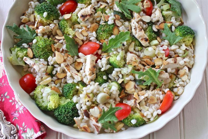 Pearl Barley Salad 3 Close