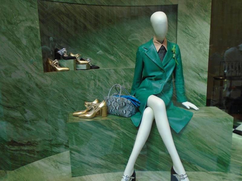 Prada Window display