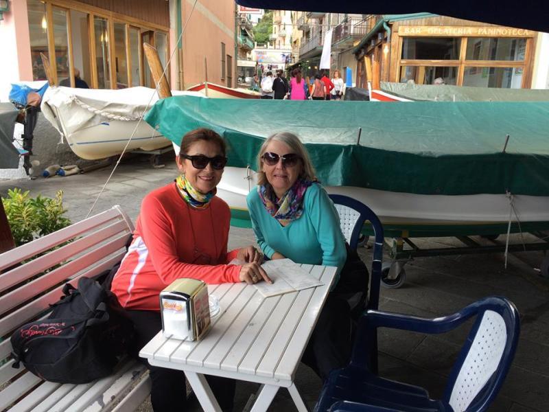 Cinque Terre Tulin and Me