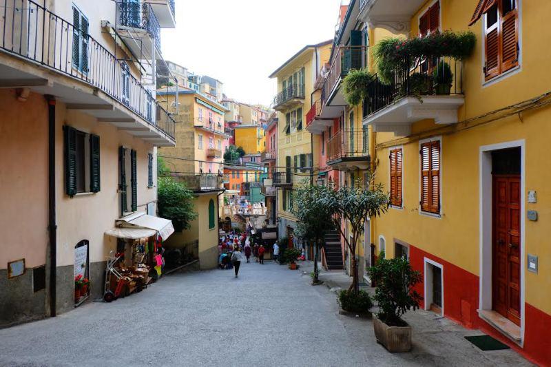 Cinque Terre village scene