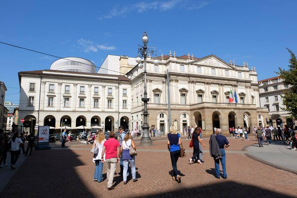 Milan, Scala Opera House