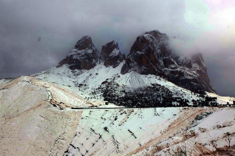 Stelvio Pass Peaks