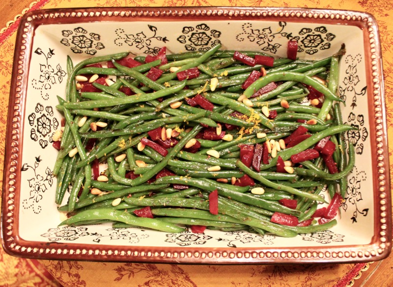 Christmas Green Beans 1