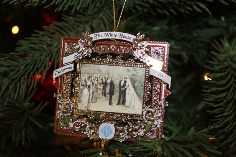 White House Ornament 2007
