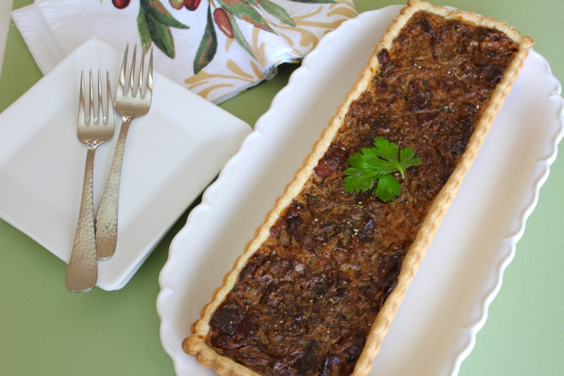 Onion and Bacon Tart 1