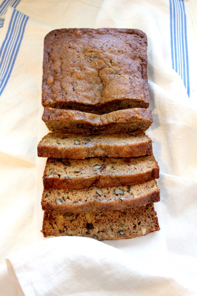 Banana Bread with Walnuts 1V
