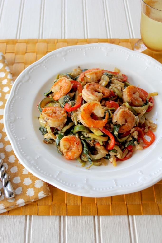 Shrimp Florentine 2